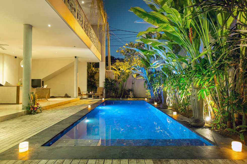 2 bedroom Villas -Romantic retreat in bali, kuta , Seminyak, Legian