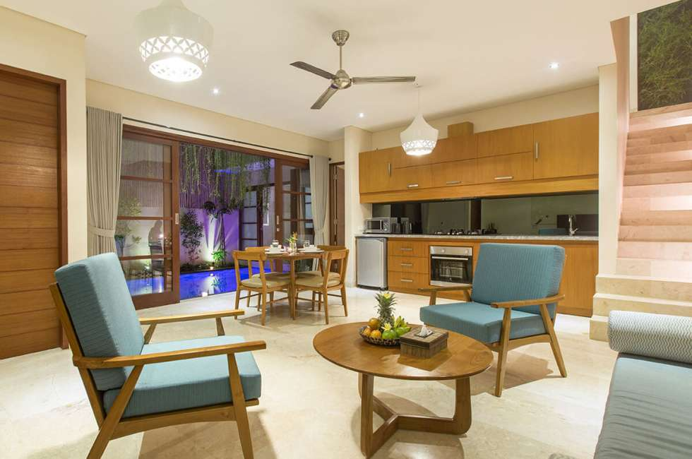4-star 2 bedroom Pool villas in Legian