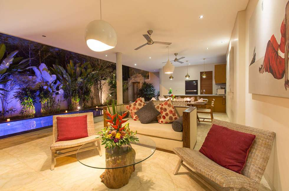 4-star 2 bedroom Villas near the coastal area of Legian