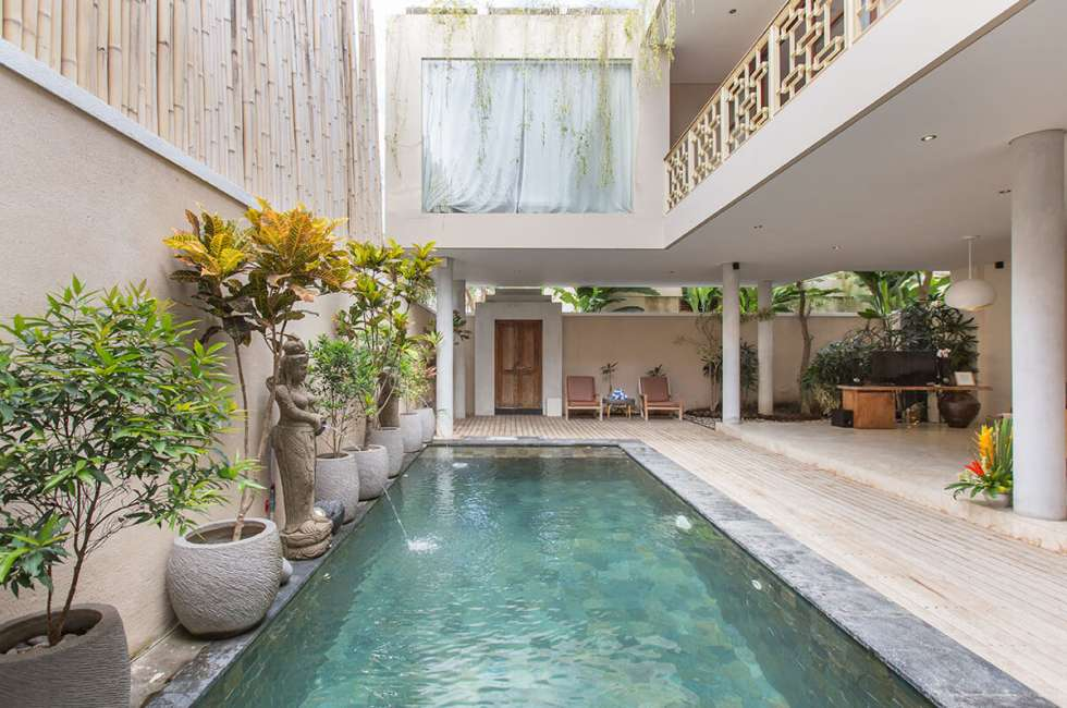 3 - bedroom Pool villas in Bali, legian