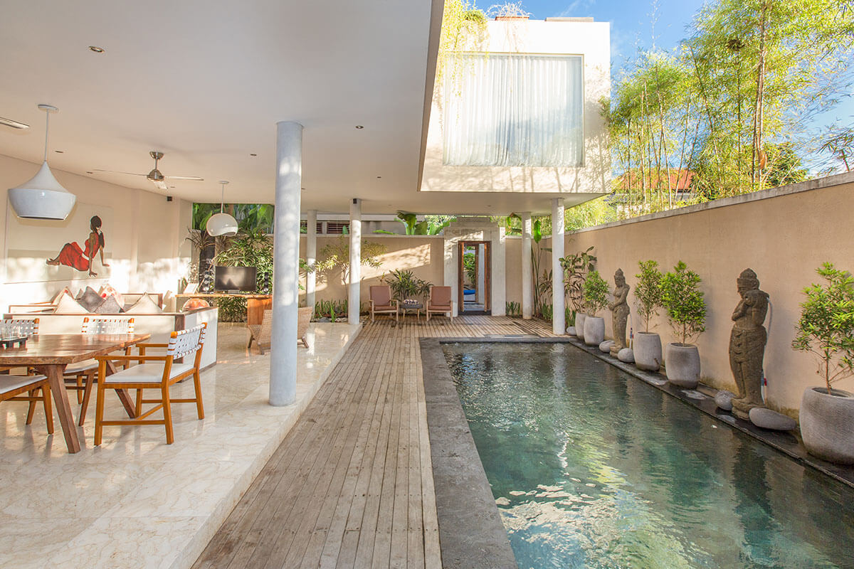 3 bedroom Pool villas in Legian - Private Pool Villas