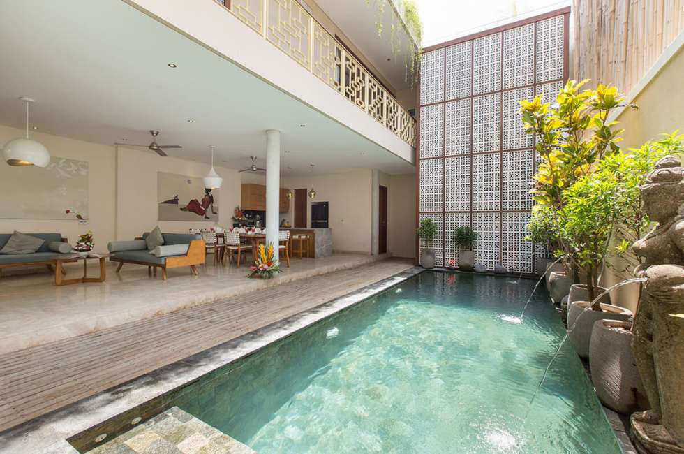 3 - bedroom Pool villas in Legian, Seminyak
