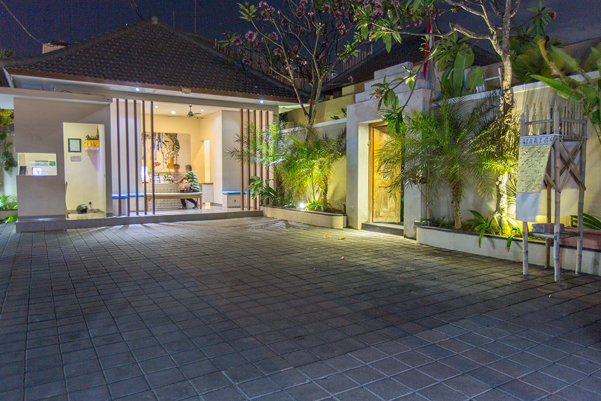 BeautifulBali Villas Reception