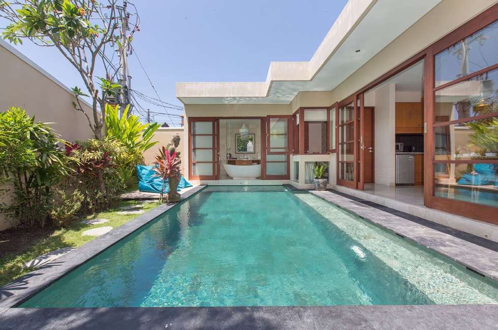 One Bedroom Villas with Pool Area