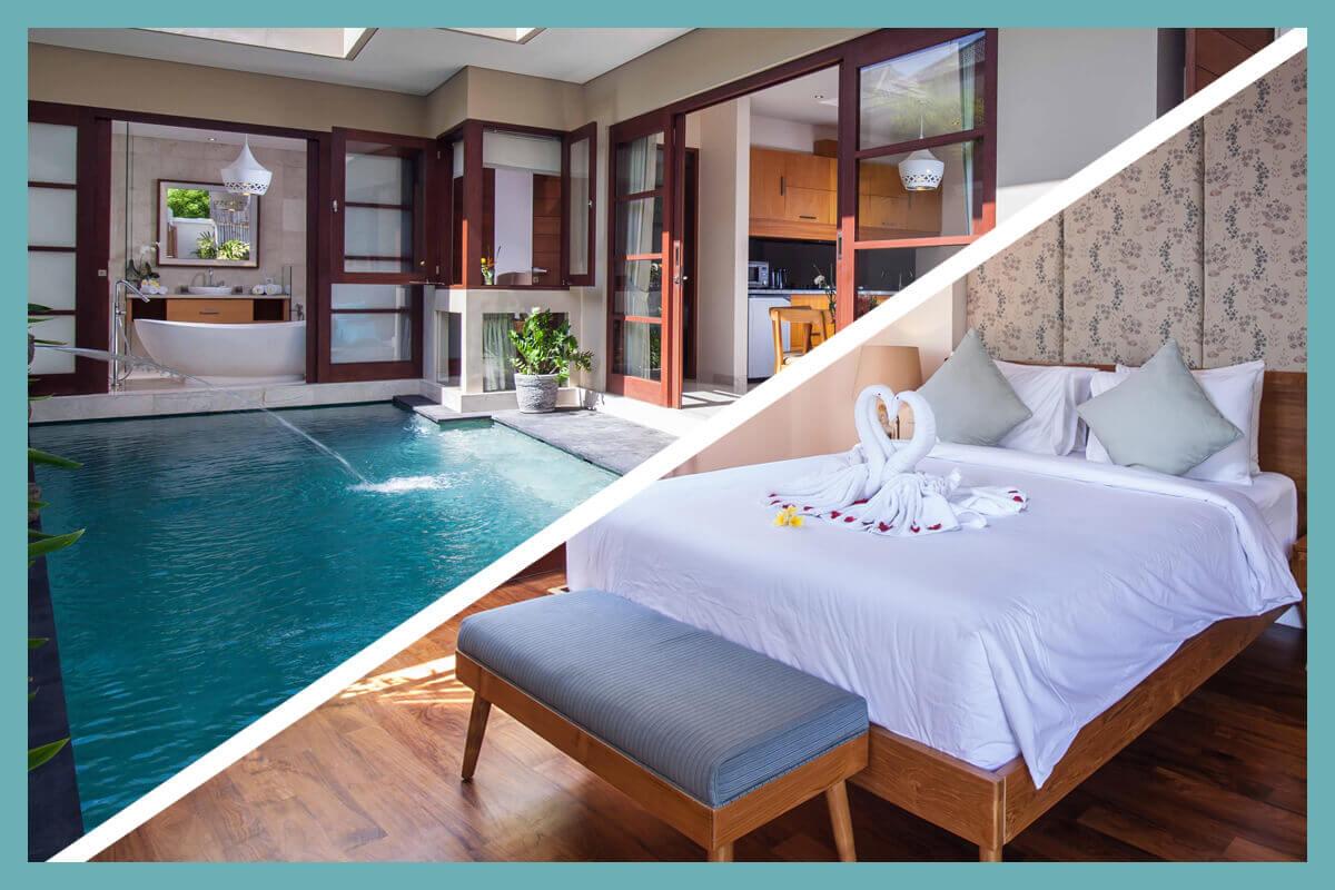 Legian Villas Private Pool Villa In Legian Kuta Bali